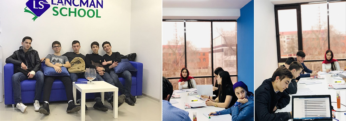 С первых дней работы Lancman School в школе был такой аншлаг, что ученикам не хватало мест в аудиториях