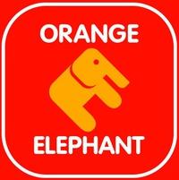 Детские товары Оранжевый слон