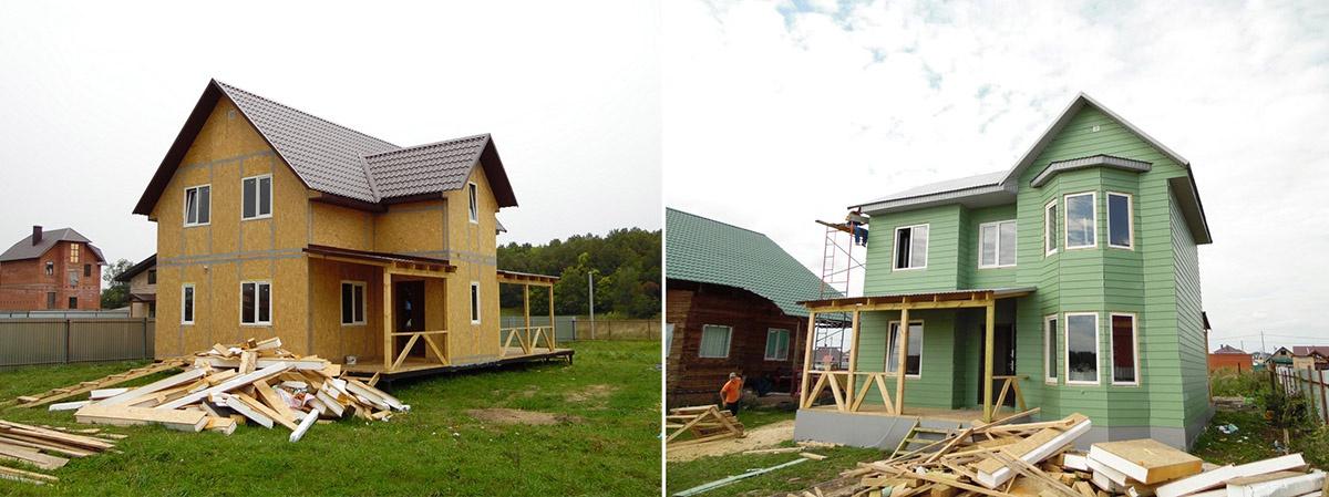 Полный цикл строительства дома любой планировки из сип-панелей — месяц