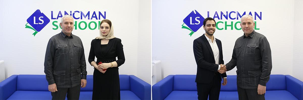 Официальное открытие Lancman School в Грозном посетил Министр образования Чеченской Республики Исмаил Байханов