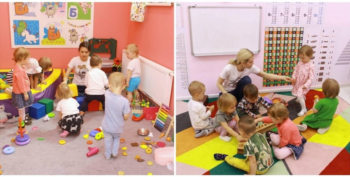 Метод «Бэби-клуба» — совмещать обучение с игрой, так дети лучше усваивают информацию.