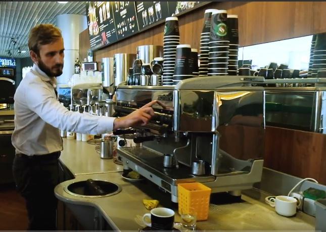 В каждой Coffeeshop Company стоят кофемашины Schärf
